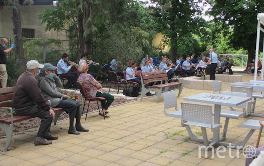 Военный духовой оркестр в Израиле. Фото предоставила Анна Фридман