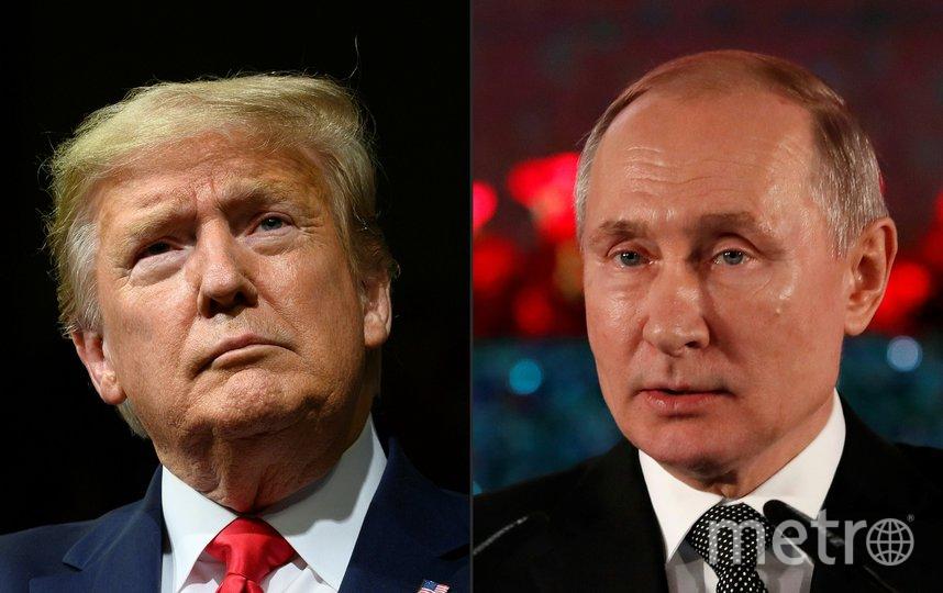 Владимир Путин и Дональд Трамп провели телефонный разговор. Фото AFP