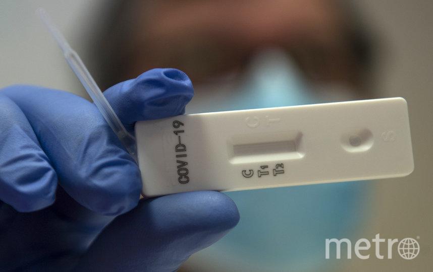 С 25 апреля в Москве было сделано более 185 тысяч экспресс-тестов на иммуноглобулин, проверяющий наличие антител к вирусу в организме. Фото AFP