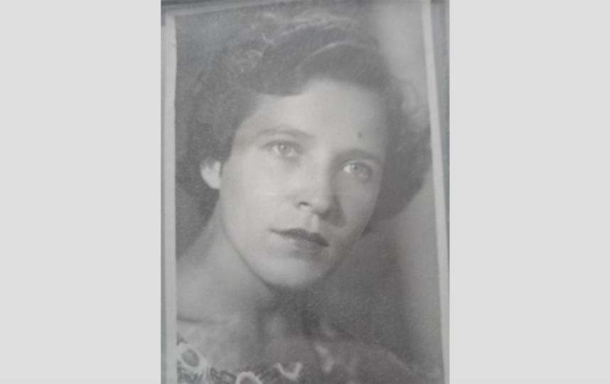 """1957 год. Александре Васильевне – 21. Фото из семейного архива, """"Metro"""""""
