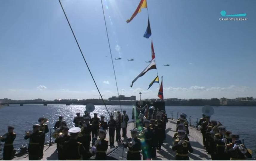 Видео воздушного парада в Петербурге. 9 мая 2020 года. Фото Скриншот Youtube