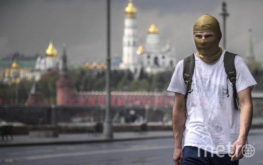 В Москве с 12 мая вводится масочный и перчаточный режим. Фото AFP