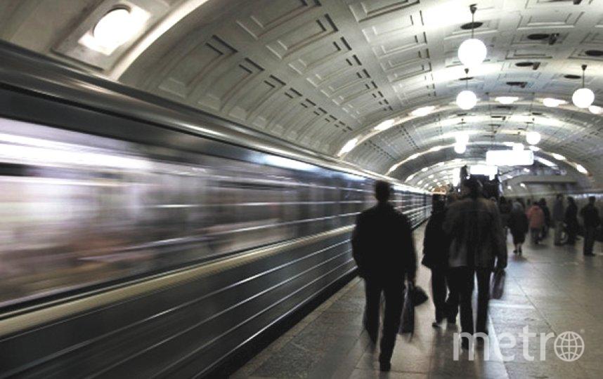 """Петербургский метрополитен работает до 22:00 9 мая. Фото """"Metro"""""""