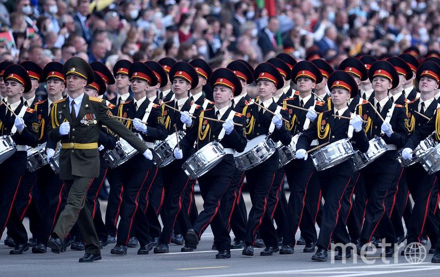 Парад Победы в Минске. Фото AFP