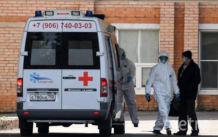 В Москве за последние дни снизилось число госпитализаций с тяжёлой и средней пневмонией. Фото AFP