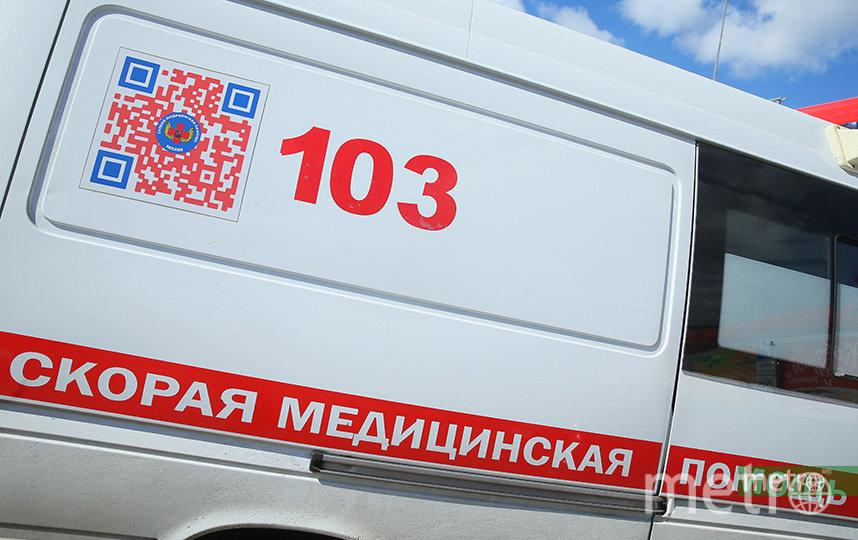 Три человека пострадали при пожаре в больнице на севере Москвы. Фото Василий Кузьмичёнок