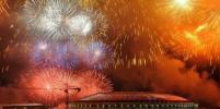 В Москве прогремел праздничный салют в честь Дня Победы: подборка ярких фотографий