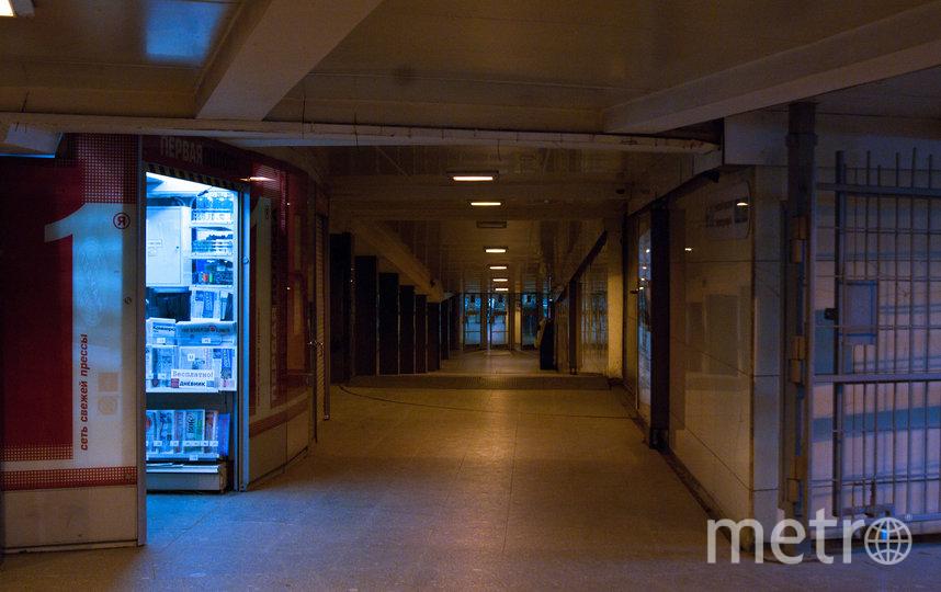 """Дублирующие вестибюли закроют. Фото """"Metro"""""""
