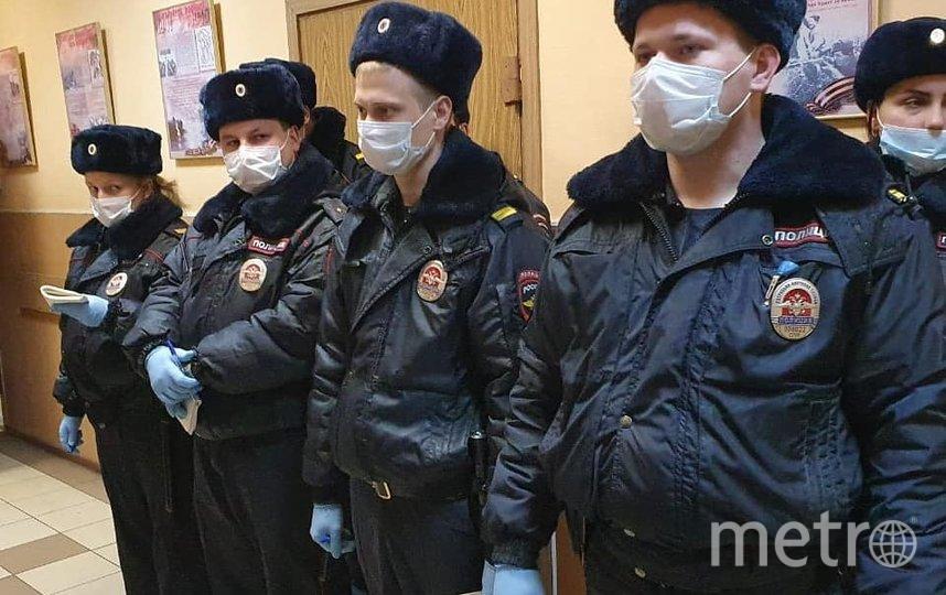 Ранее полиция получила полномочия составлять протоколы. Фото МВД РФ по СПб и ЛО
