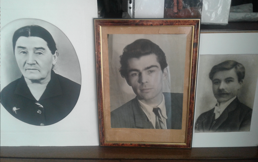 Любовь Васильевна, Владислав Федорович и Федор Иванович Горшковы. Фото Из семейного архива