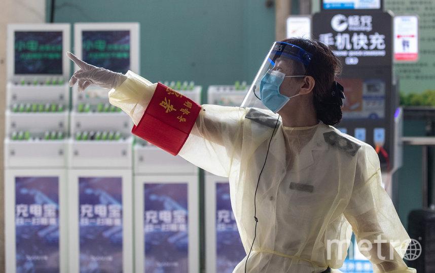 В китайской Ухани, где впервые произошла вспышка Covid-19, впервые за долгое время выявили новый случай заболевания коронавирусом. Фото AFP