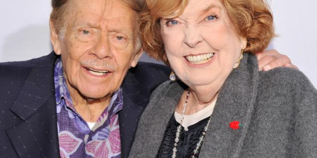 Джерри Стиллер с женой.