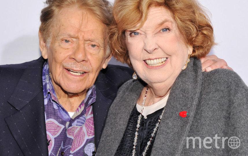 Джерри Стиллер с женой. Фото Getty