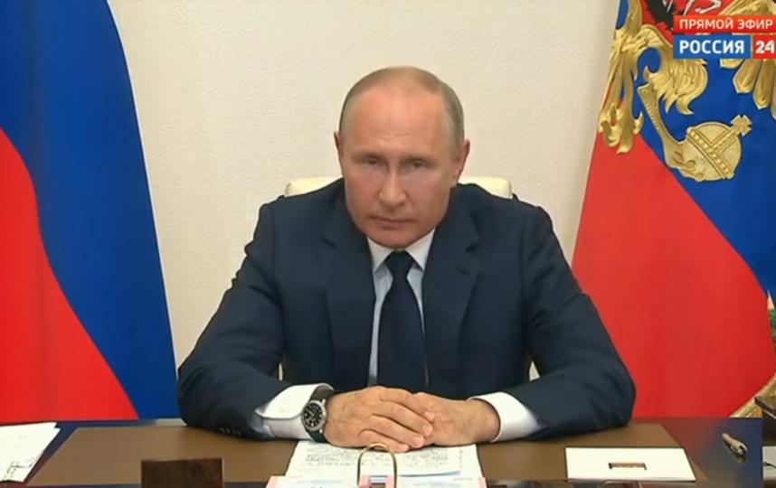 Владимир Путин. Фото Скриншот Youtube