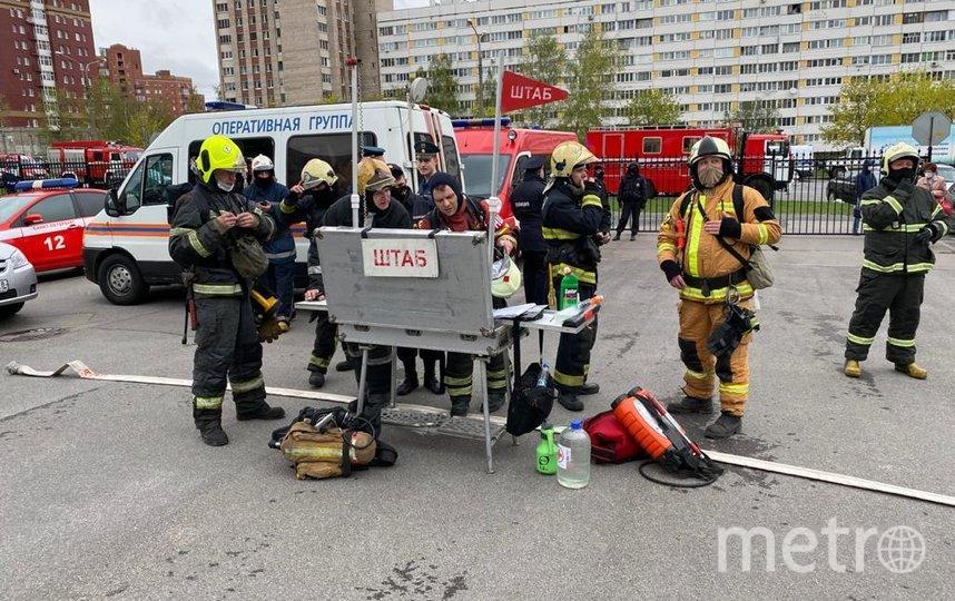 На место происшествия выехал губернатор Санкт-Петербурга Александр Беглов. Фото a_beglov, vk.com