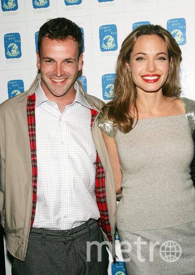 Анджелина Джоли с первым мужем Джонни Ли Миллером. Фото Getty