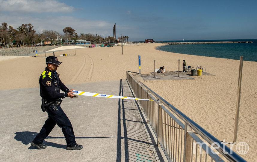 Пляжи сейчас не доступны для посещения. Фото Getty