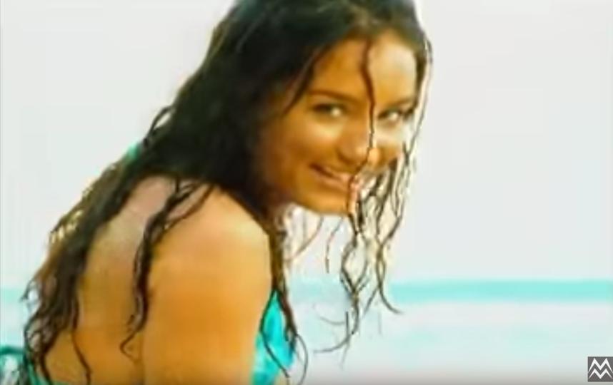 Виктория Дайнеко в начале карьеры. Фото Скриншот Youtube