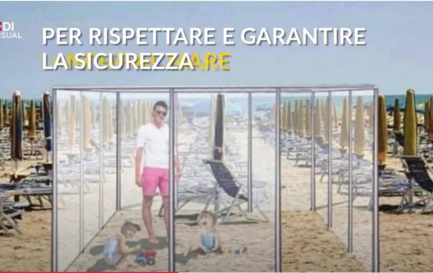 Людей разделят прозрачные перегородки. Фото youtube-канал La Repubblica