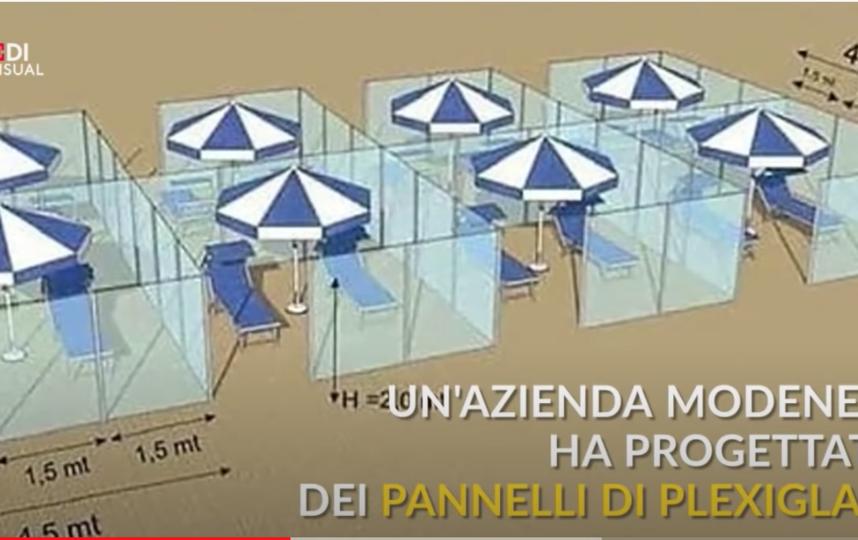 Привыкать люди будут долго, но желание искупаться сильнее. Фото youtube-канал  La Repubblica