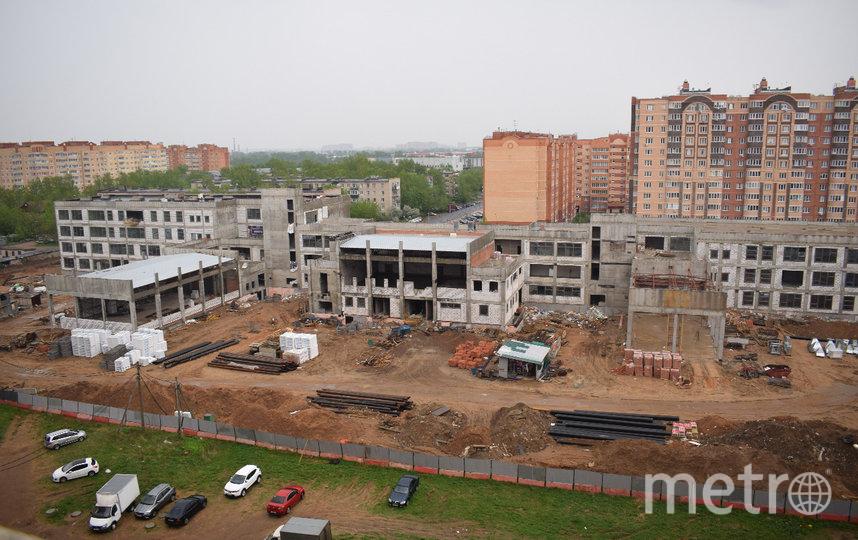 """Стройка жегаловской школы в Щёлково может продолжиться через неделю. Фото """"Metro"""""""