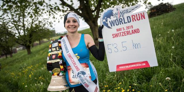 В прошлом году Нина Зарина участвовала в забеге на трассе в Швейцарии. Тогда она впервые стала глобальной победительницей.
