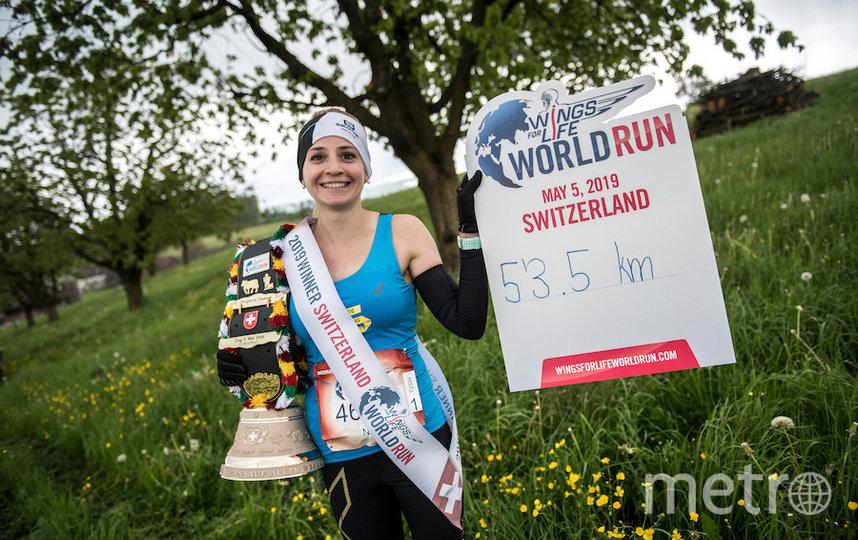 В прошлом году Нина Зарина участвовала в забеге на трассе в Швейцарии. Тогда она впервые стала глобальной победительницей. Фото redbullcontentpool.com