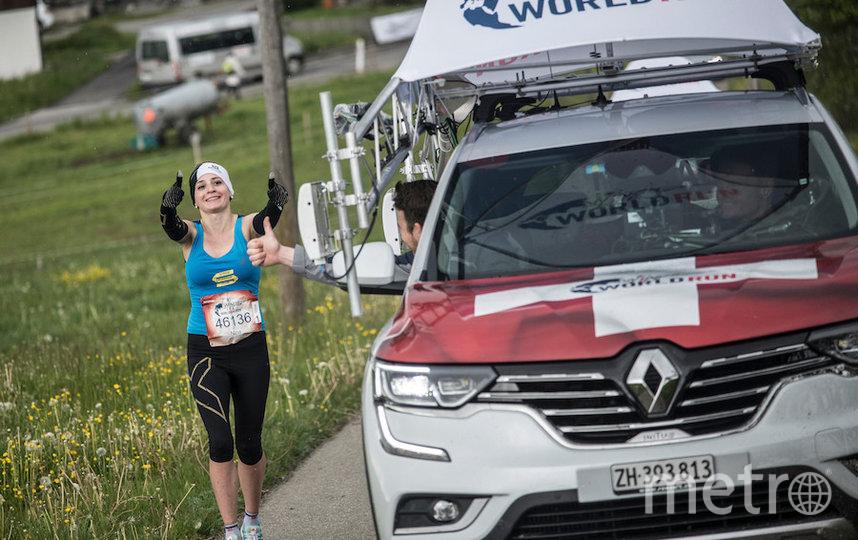 В прошлом году Нина Зарина участвовала в забеге на трассе в Швейцарии. Фото redbullcontentpool.com