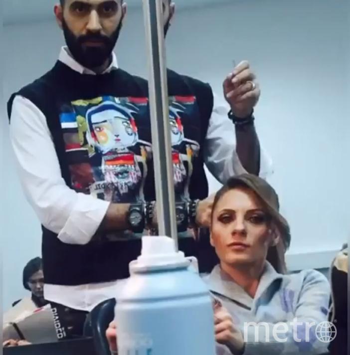 Наталья Еприкян с другом Вовой. Фото скриншот https://www.instagram.com/eprikol/
