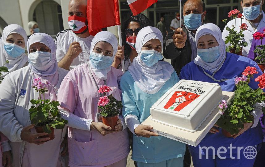 Медсестры, Ливан. Фото AFP
