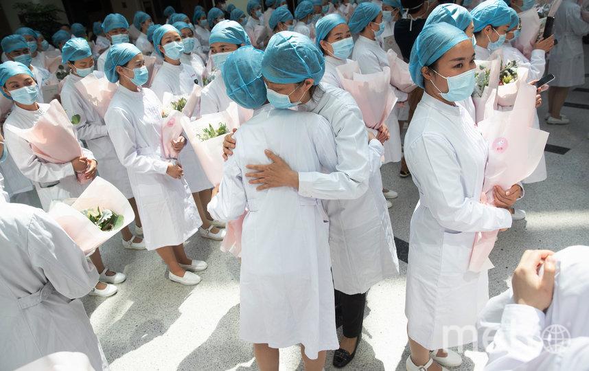 12 мая во всем мире отмечается день медсестры. Китай. Фото AFP