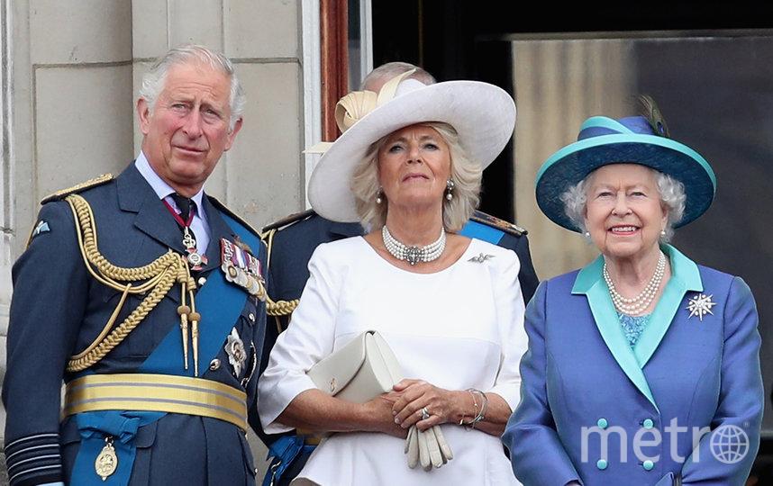 Чарльз, принц Уэльский, Камилла, герцогиня Корнуолл, и королева Елизавета II. Фото Getty, Getty