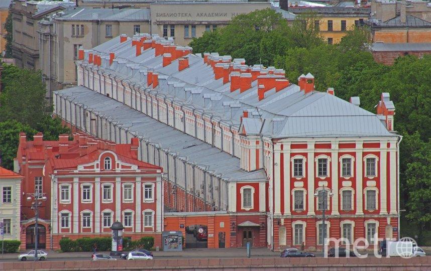 "СПбГУ лишь на пятом месте. Фото ""Metro"""