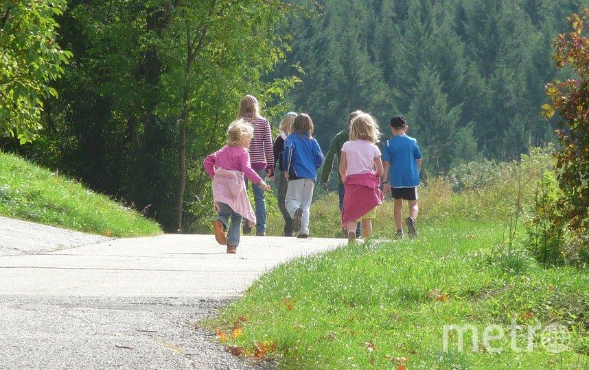 Кое-где разрешили прогулки с детьми. Фото pixabay.com