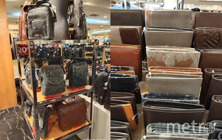 """""""Неразборчивый"""" грибок атаковал изделия и из натуральных, и из искусственных материалов. Фото facebook.com/Nex001"""