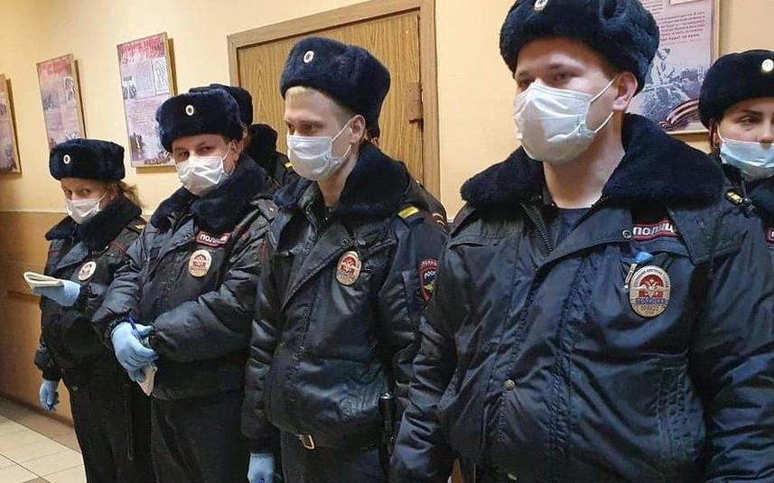 Цель законопроекта –защитить полицейских. Фото МВД РФ