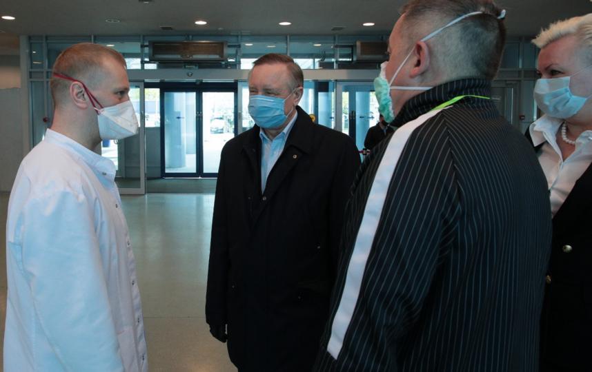 """Беглов побывал в Ленэкспо. Фото https://www.gov.spb.ru/, """"Metro"""""""