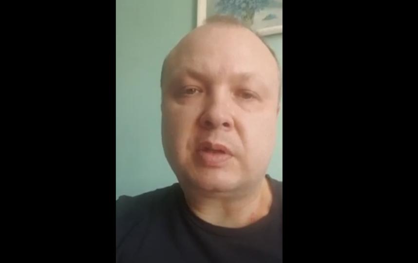 Дмитрий Ильин уже выписан из больницы. Фото Скриншот Youtube