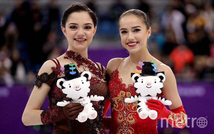 Евгения Медведева и Алина Загитова. Фото Getty