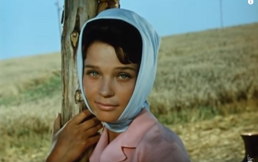 Светлана Светличная в молодости. Фото Скриншот Youtube