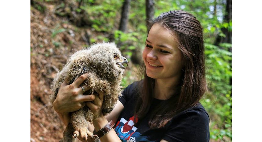 Анна Евсеева, орнитолог. Фото instagram.com/anna.grus