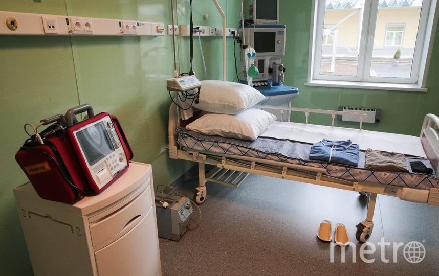 В Пушкине открыт временный госпиталь Минобороны для лечения пациентов с COVID-19. Фото www.gov.spb.ru