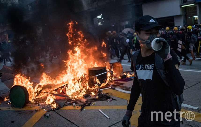 Протесты в Гонконге начались 15 марта в 2019 году. Фото Getty