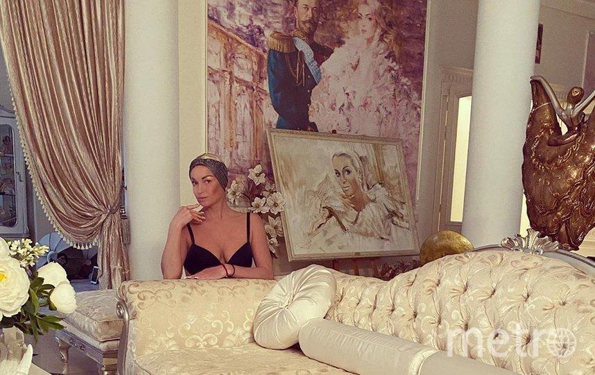 Анастасия Волочкова. Фото Скриншот Instagram/volochkova_art/