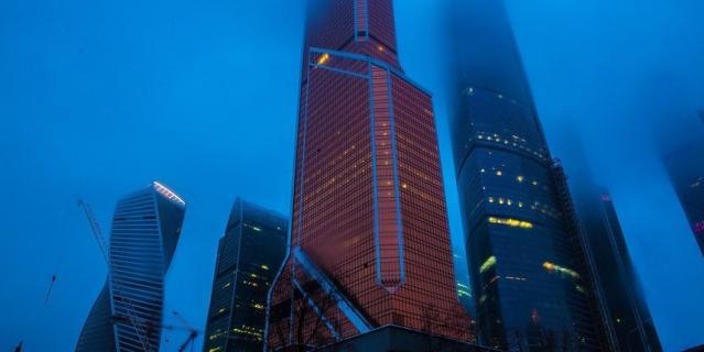 Москва-Cити.