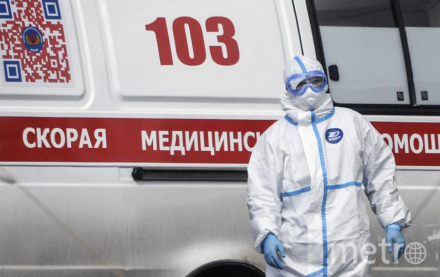 Правительство России разъяснило порядок расчета доплат медикам, работающим с коронавирусными больными. Фото AFP