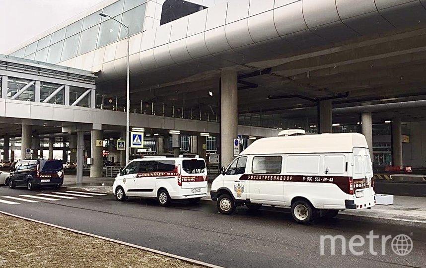 Встреча рейса в Пулково. Фото Воздушные Ворота Северной столицы (ВВСС)