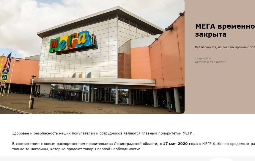 Скриншот. Фото mega.ru