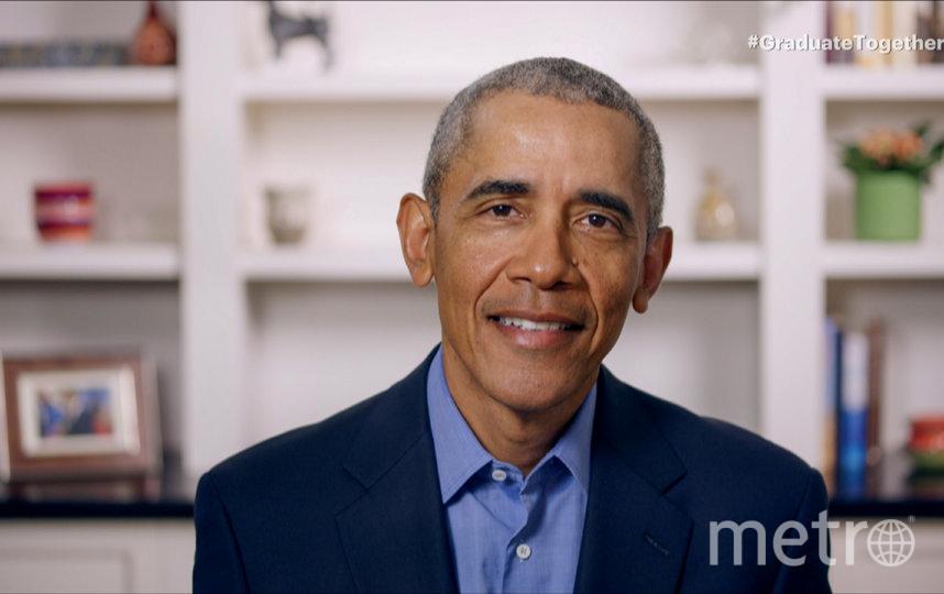 Барак Обама выступил с онлайн-обращением к выпускникам колледжей. Фото AFP
