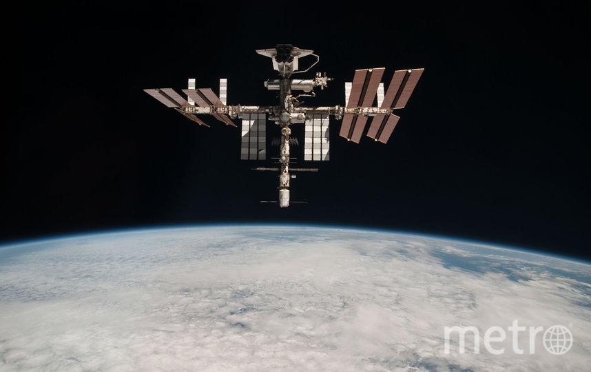 Россияне смогут понаблюдать за МКС в мае невооруженным глазом. Фото Getty